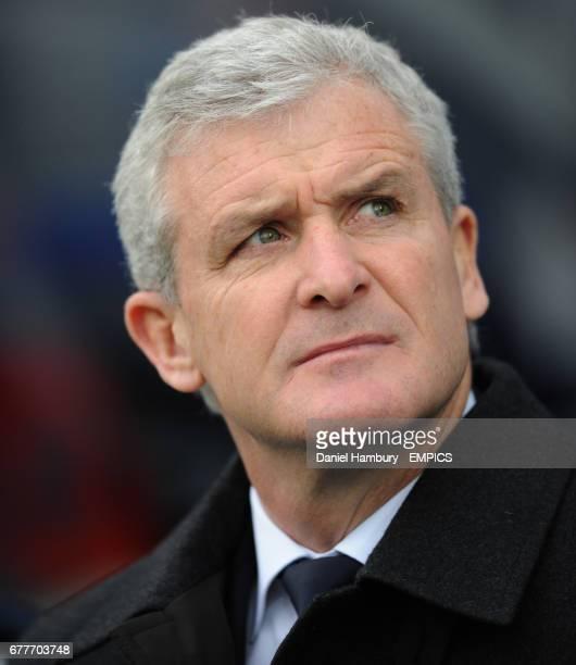 Queens Park Rangers' manager Mark Hughes