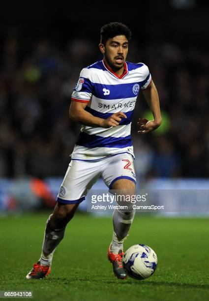 Queens Park Rangers' Massimo Luongo in action during the Sky Bet Championship match between Queens Park Rangers and Brighton Hove Albion at Loftus...