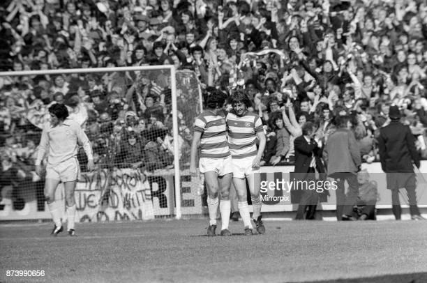 Queens Park Rangers v Leeds United League Division One final score 20 to Queens Park Rangers 24th April 1976