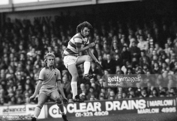 Queens Park Rangers v Tottenham Hotspur League Division One Final score 00 8th November 1975