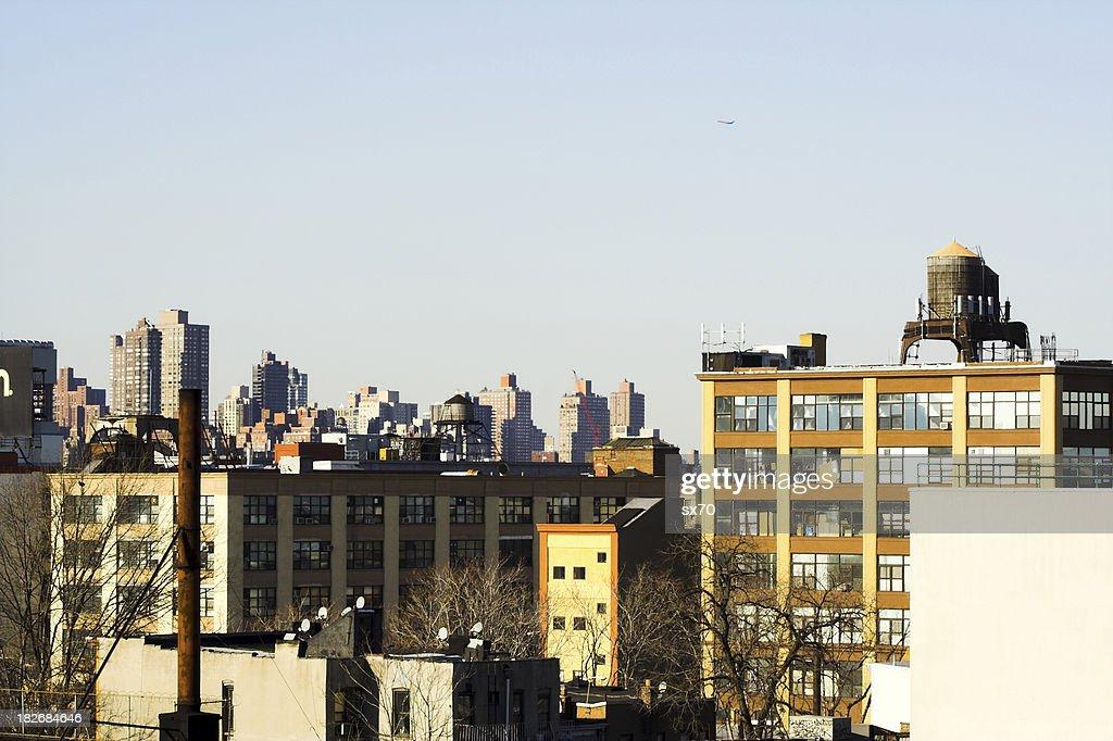 Queens West Rooftop View