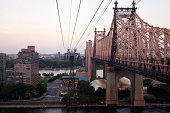 The Queensboro Bridge, also known as the 59th Street Bridge – because its Manhattan end is located between 59th and 60th Streets – and officially titled the Ed Koch Queensboro Bridge, is a cantilever