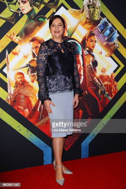 Queensland Premier Annastacia Palaszczuk arrives for the Australian Premiere of Thor Ragnarok on October 13 2017 in Gold Coast Australia