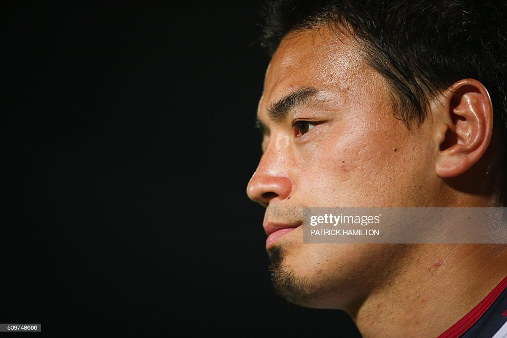 Queensland Reds Japanese import player Ayumu Goromaru looks on during the Super Rugby trial between Queensland Reds and Brumbies at Ballymore, Brisbane on February 12, 2016. The Super Rugby season starts on February 26. AFP PHOTO / PATRICK HAMILTON ---IMAGE RESTRICTED TO EDITORIAL USE - STRICTLY NO COMMERCIAL USE--- / AFP / PATRICK HAMILTON