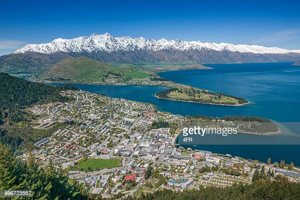 Queenstown and The Remarkables Panorama, New Zealand