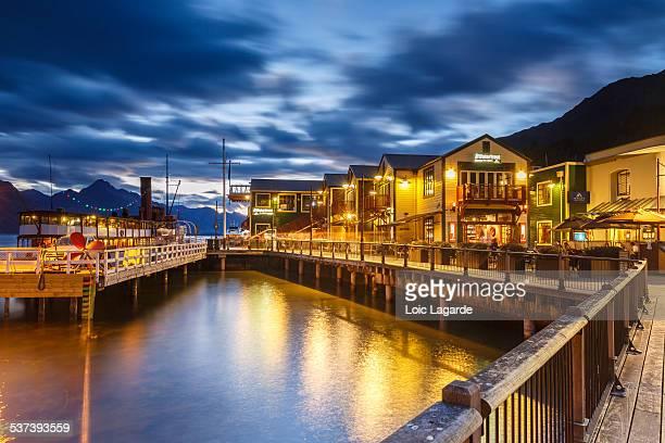 Queenstown by night