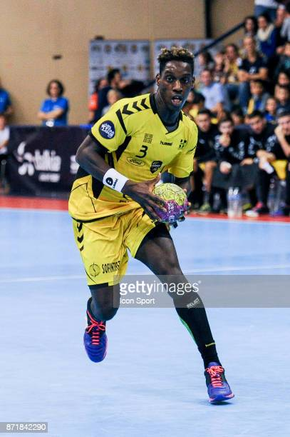 Queido Traore of Chambery during the Lidl Starligue match between Massy and Chambery on November 8 2017 in Massy France