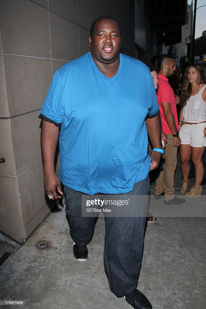 Quentin Aaron is seen on July 18, 2013 in Los Angeles, California.