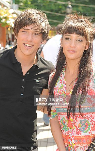 Quentin and Erika Moulet at Roland Garros Village