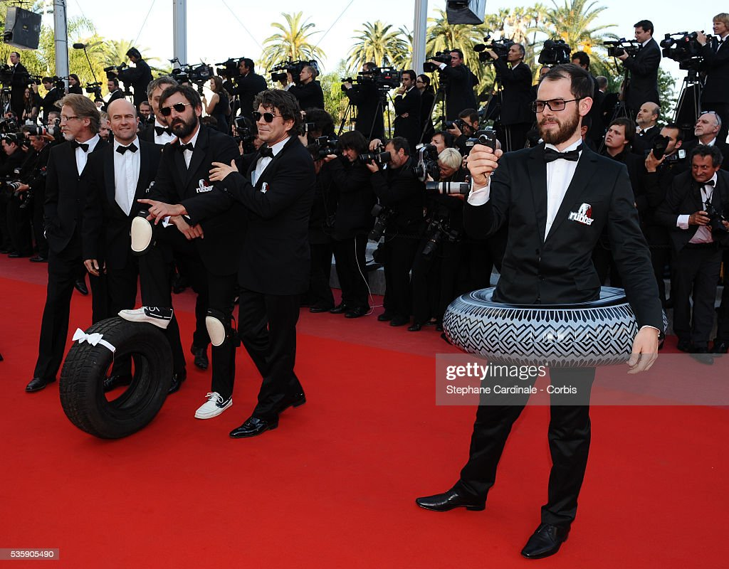 Quentin Dupieux aka Mr Oizo at the Premiere for 'Biutiful' during the 63rd Cannes International Film Festival.