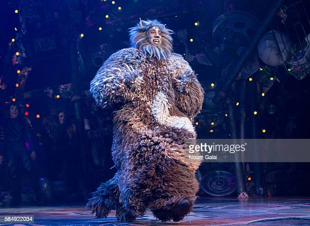Quentin Earl Darrington performs at the firstever revival of Andrew Lloyd Webber's iconic CATS on Broadway on July 31 2016 in New York City