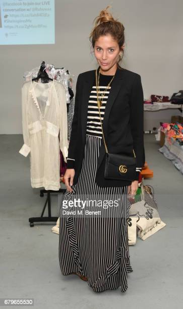 Quentin Jones attends the #SheInspiresMe Car Boot Sale for Women for Women International at Brewer Street Car Park on May 6 2017 in London England