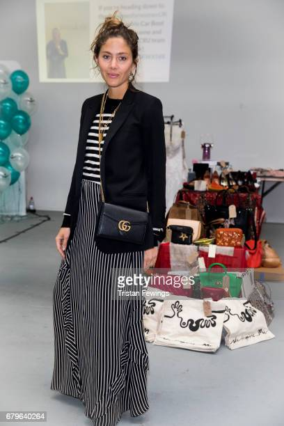 Quentin Jones attends the Women for Women International #SheInspiresMe car boot sale at Brewer Street Car Park on May 6 2017 in London England