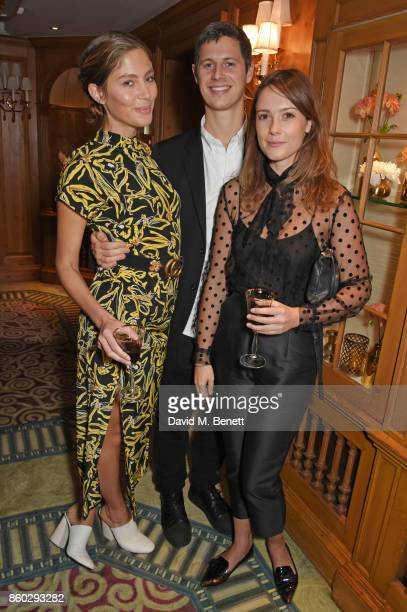 Quentin Jones George Northcott and Caroline Lever attend a private dinner following the Warrior Games Exhibition VIP Preview hosted by HRH Princess...