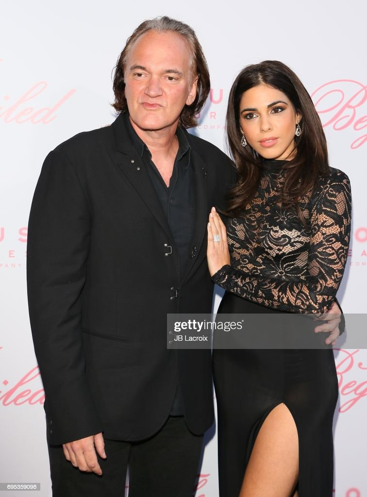 Quentin Tarantino and Daniela Pick attend the premiere of 'The Beguiled' on June 12, 2017 in Los Angeles, California.