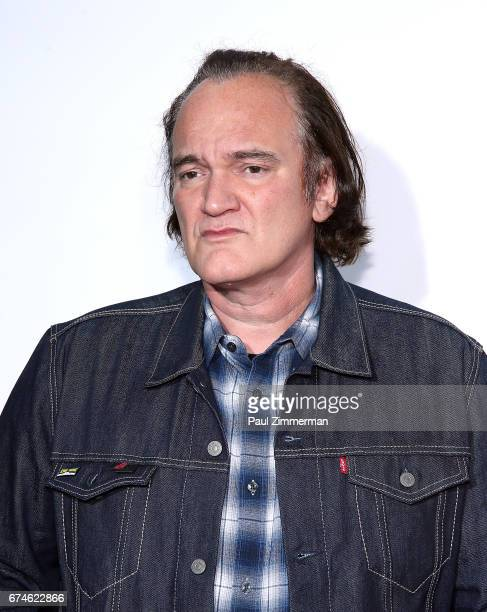 Quentin Tarantino attends the 2017 Tribeca Film Festival 'Reservoir Dogs' 25th Anniversary Screening at The Beacon Theatre on April 28 2017 in New...