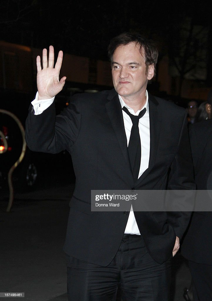 Quentin Tarantino attends The Museum of Modern Art Film Benefit Honoring Quentin Tarantino at MOMA on December 3, 2012 in New York City.