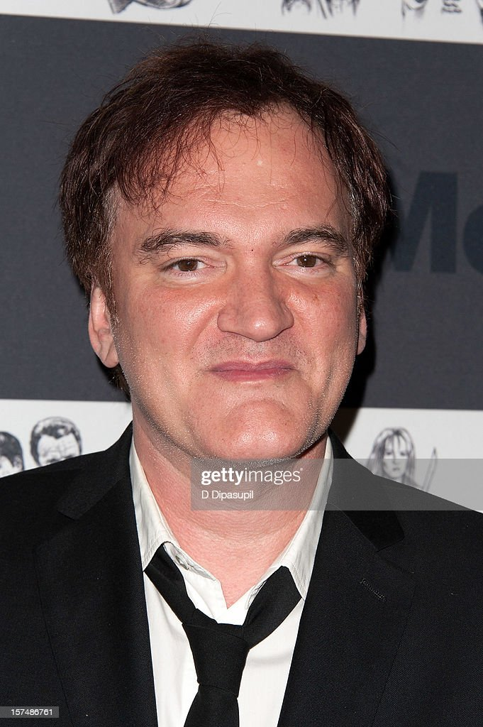 Quentin Tarantino attends the Museum of Modern Art film benefit honoring Quentin Tarantino on December 3, 2012 in New York City.