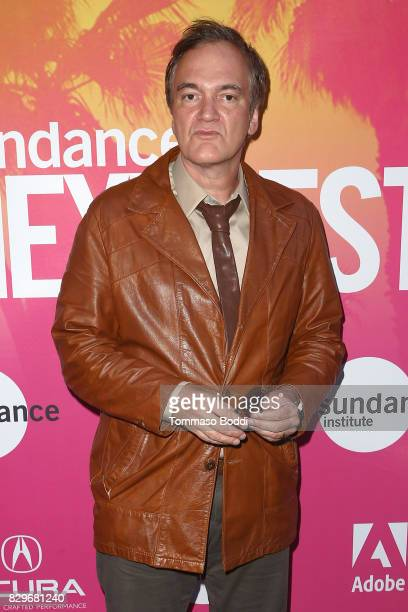 Quentin Tarantino attends the Sundance NEXT FEST Opening Night Honoring Quentin Tarantino at The Theater at The Ace Hotel on August 10 2017 in Los...