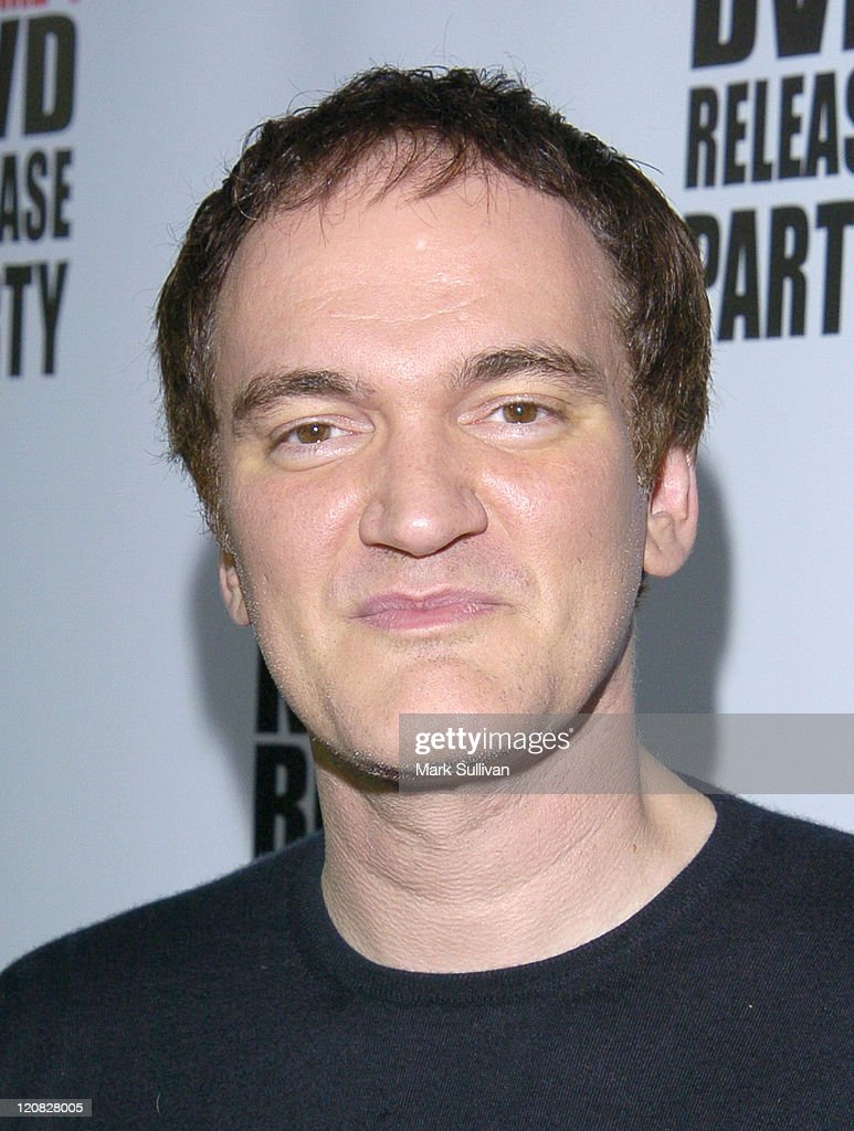 Quentin Tarantino during  Kill Bill Vol 1  DVD Release Party at The