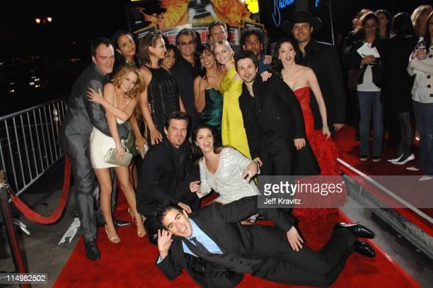 Quentin Tarantino Jordan Ladd Sydney Tamiia Poitier Zoe Bell Kurt Russell Rosario Dawson Marley Shelton Freddy Rodriguez Naveen Andrews Rose McGowan...