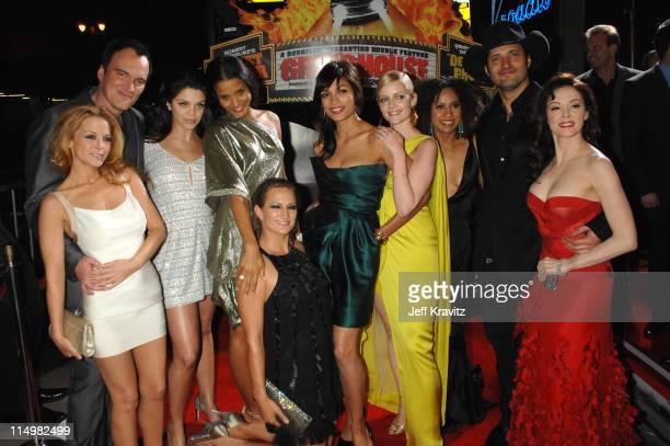 Quentin Tarantino Jordan Ladd Vanessa Ferlito Rose McGowan Sydney Tamiia Poitier Rosario Dawson Marley Shelton Tracie Thoms Robert Rodriguez and Zoe...