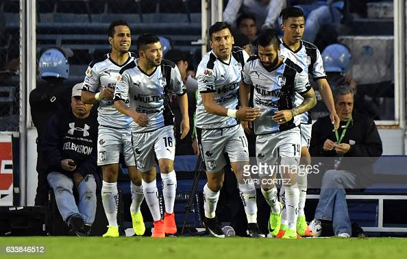 FBL-MEX-CRUZ AZUL-QUERETARO. By  YURI CORTEZ · Queretaro s forward Angel  Sepulveda celebrates with teammate Luis Noriega after scoring a goal against  ... b47d5385c75c1