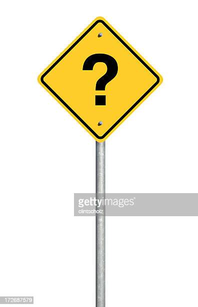 Question Road Sign