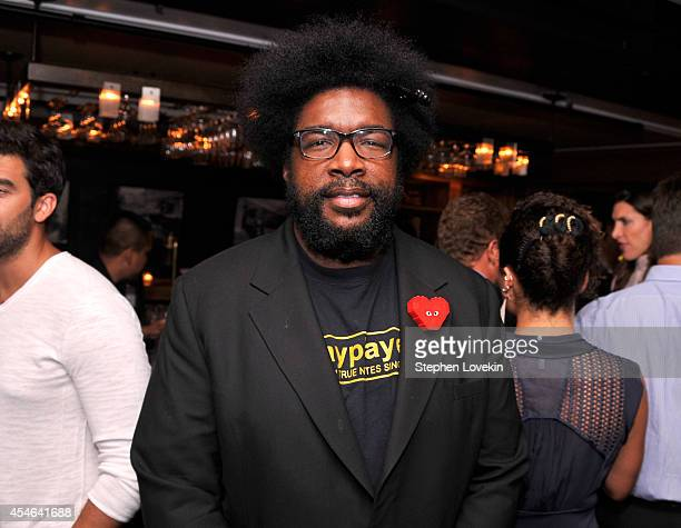 Questlove attends a Private Reception And Screening Of Homeland Season 4 on September 4 2014 in New York City