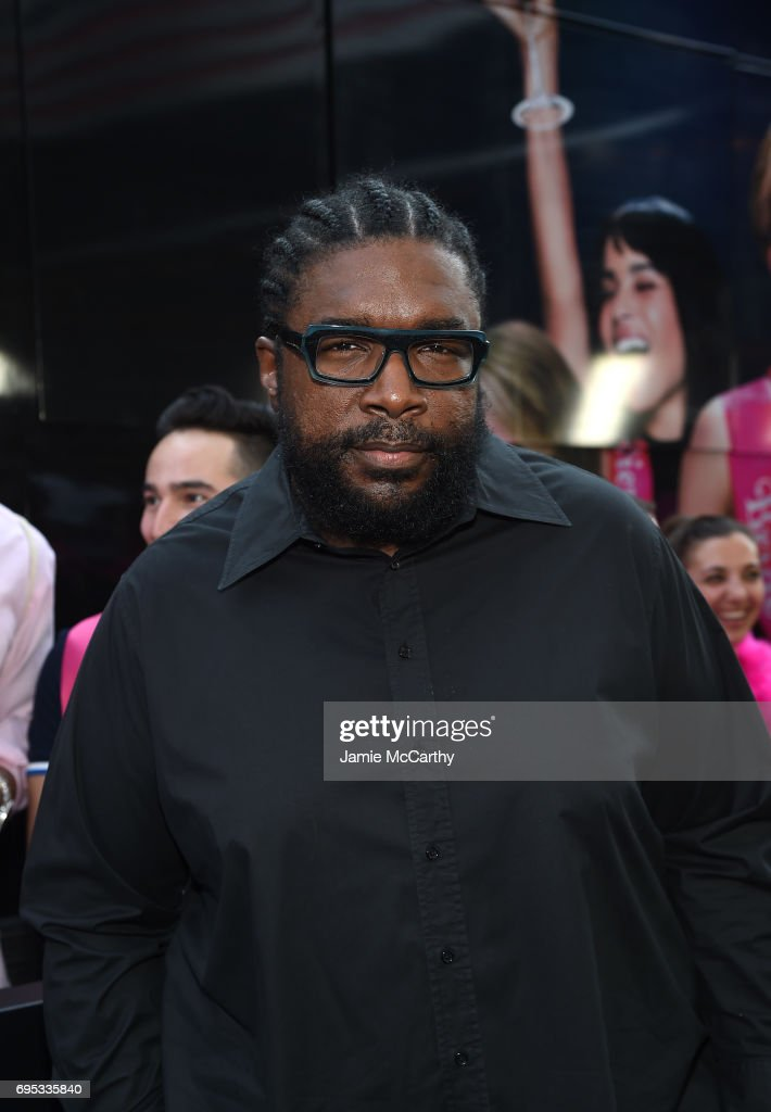 Questlove attends New York Premiere of Sony's ROUGH NIGHT presented by SVEDKA Vodka at AMC Lincoln Square Theater on June 12, 2017 in New York City.