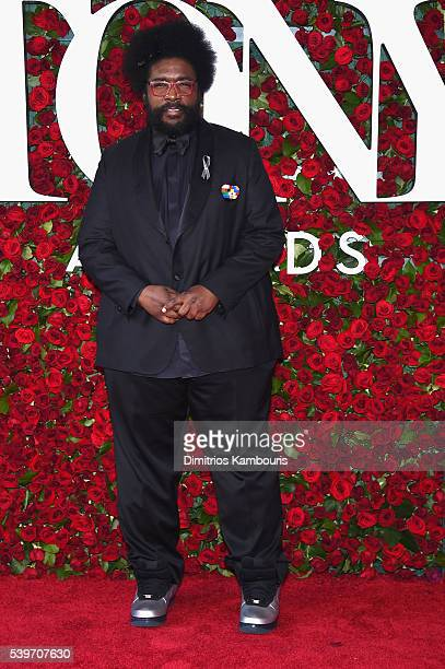 Questlove attends the 70th Annual Tony Awards at The Beacon Theatre on June 12 2016 in New York City