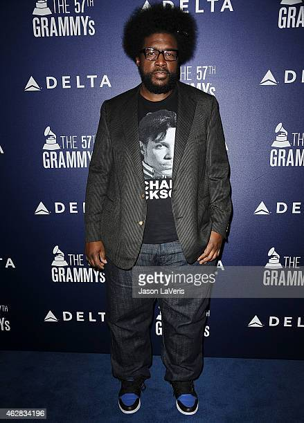 Questlove attends the Delta Air Lines toast to the 2015 GRAMMY weekend at Soho House on February 5 2015 in West Hollywood California