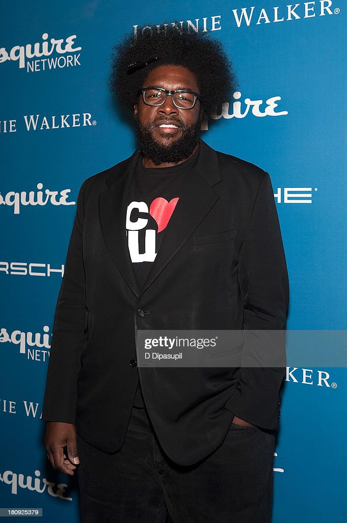 <a gi-track='captionPersonalityLinkClicked' href=/galleries/search?phrase=Questlove&family=editorial&specificpeople=537550 ng-click='$event.stopPropagation()'>Questlove</a> attends the Esquire 80th Anniversary And Esquire Network Launch Celebration at Highline Stages on September 17, 2013 in New York City.