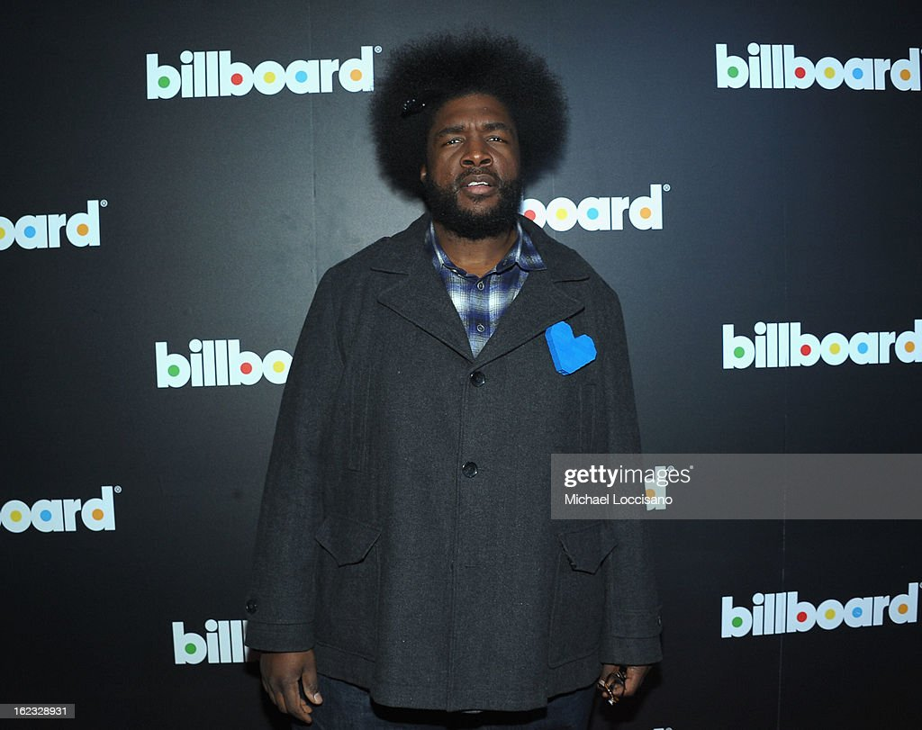QuestLove attends The New Billboard Launch Event at Stage 48 on February 21, 2013 in New York City.