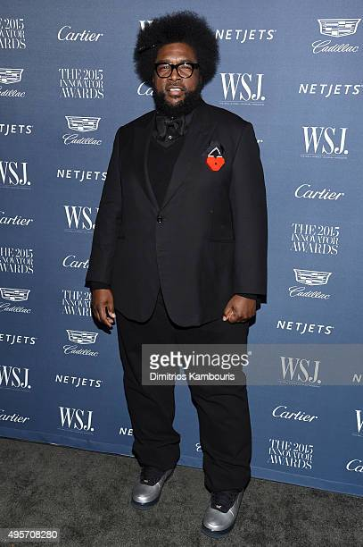 Questlove attends the WSJ Magazine 2015 Innovator Awards at the Museum of Modern Art on November 4 2015 in New York City