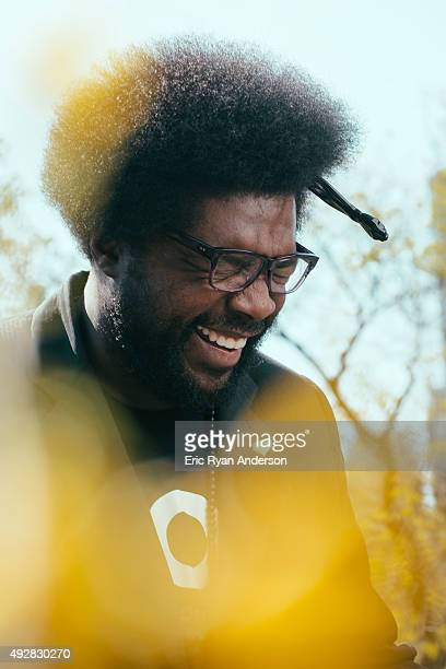 Questlove for Brooklyn Magazine on April 9 2015 in New York City ON DOMESTIC EMBARGO UNTIL OCTOBER 22 2015 ON INTERNATIONAL EMBARGO UNTIL OCTOBER 22...