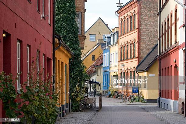 Quiet city street, Malmo, Sweden
