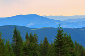 quiet mountain scene