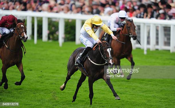 Quiet Reflection ridden by Dougie Costello wins the Commonwealth Cup during Day Four of Royal Ascot 2016 at Ascot Racecourse on June 17 2016 in Ascot...