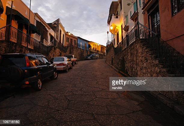 Quiet Street in Santo Domingo