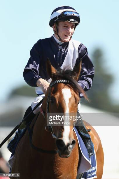 Quilate ridden by Beau Mertens returns to scale after winning the Nick Johnstone Real Estate Ladies' Day Vase during Melbourne Racing at Caulfield...