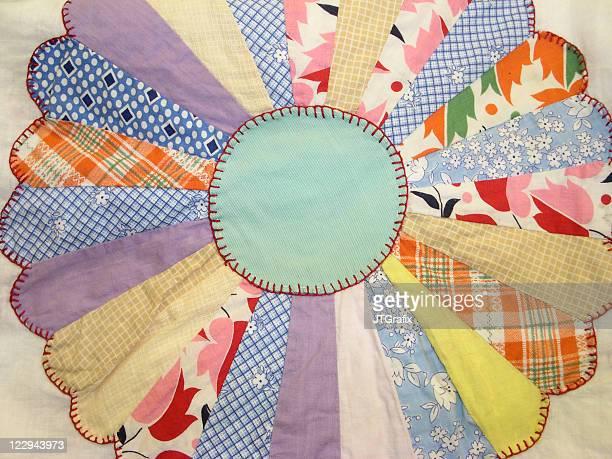 Quilt - Dresden Plate Pattern