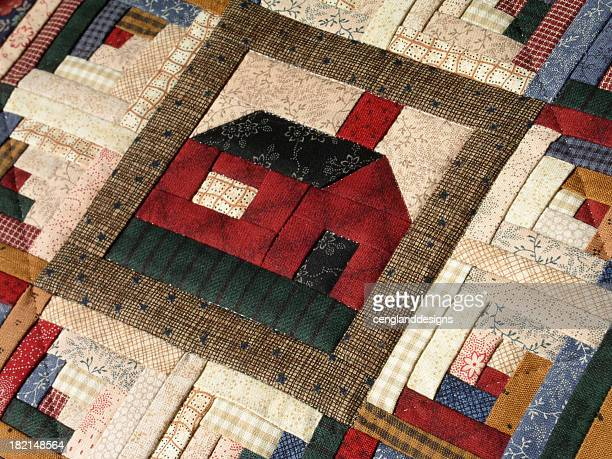 Quilt - Log Cabin Corner Lot (Mini)
