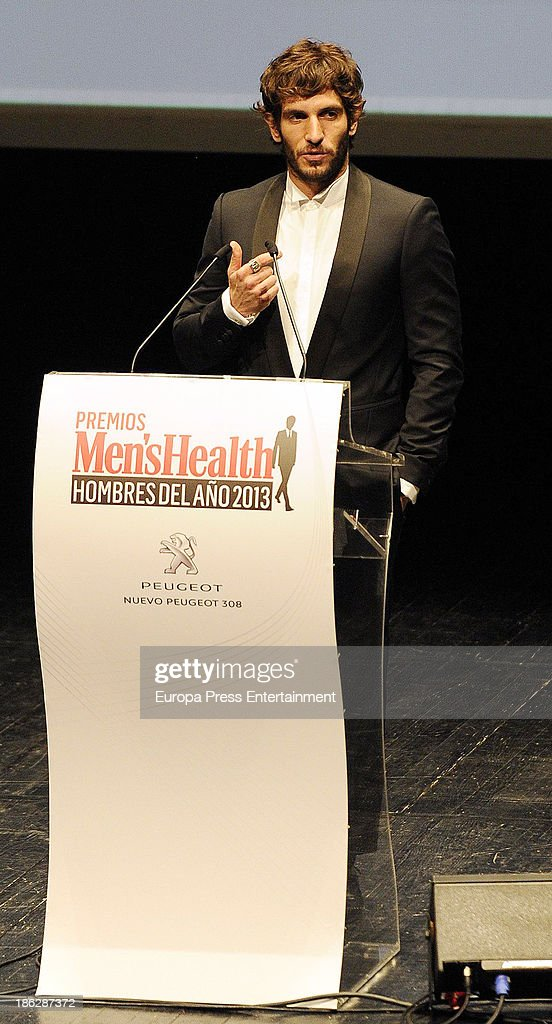 <a gi-track='captionPersonalityLinkClicked' href=/galleries/search?phrase=Quim+Gutierrez&family=editorial&specificpeople=4126293 ng-click='$event.stopPropagation()'>Quim Gutierrez</a> attends Men's Health Awards 2013 at Teatros del Canal on October 29, 2013 in Madrid, Spain.