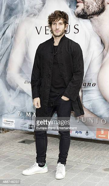 Quim Gutierrez attends the 'La Venus de las Pieles' premiere photocall on May 7 2014 in Madrid Spain