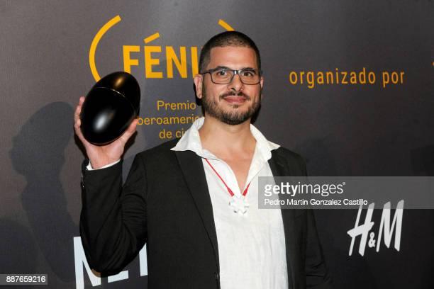 Quincas Moreira poses during Fenix Iberoamerican Film Awards 2017 at Teatro de La Ciudad on December 06 2017 in Mexico City Mexico
