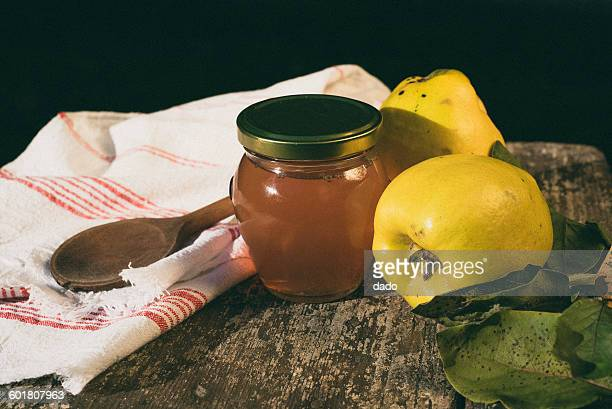 Quince and quince jelly