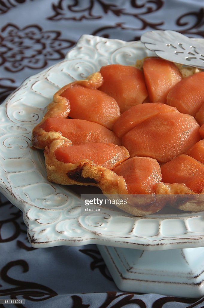 Quince Tarte Tatin : Stock Photo