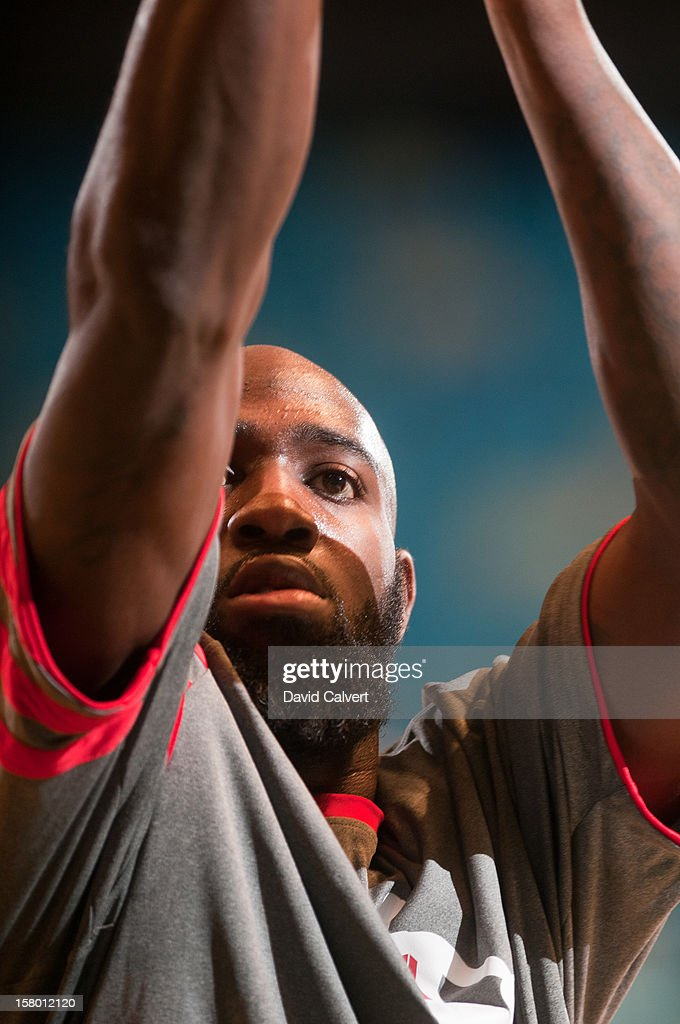 <a gi-track='captionPersonalityLinkClicked' href=/galleries/search?phrase=Quincy+Acy&family=editorial&specificpeople=5674079 ng-click='$event.stopPropagation()'>Quincy Acy</a> #17 of the Bakersfield Jam shoots free throws before the game against the Reno Bighorns on December 7, 2012 at the Reno Events Center in Reno, Nev..