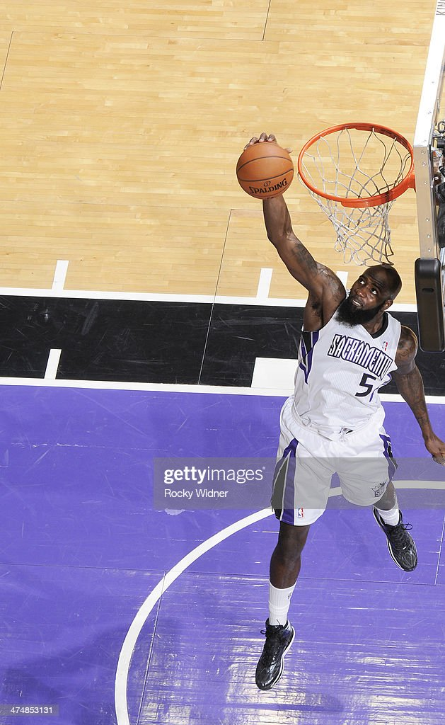 <a gi-track='captionPersonalityLinkClicked' href=/galleries/search?phrase=Quincy+Acy&family=editorial&specificpeople=5674079 ng-click='$event.stopPropagation()'>Quincy Acy</a> #5 of the Sacramento Kings rebounds against the Boston Celtics on February 22, 2014 at Sleep Train Arena in Sacramento, California.